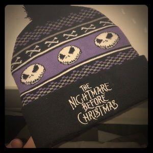 The nightmare before Christmas beanie NWOT